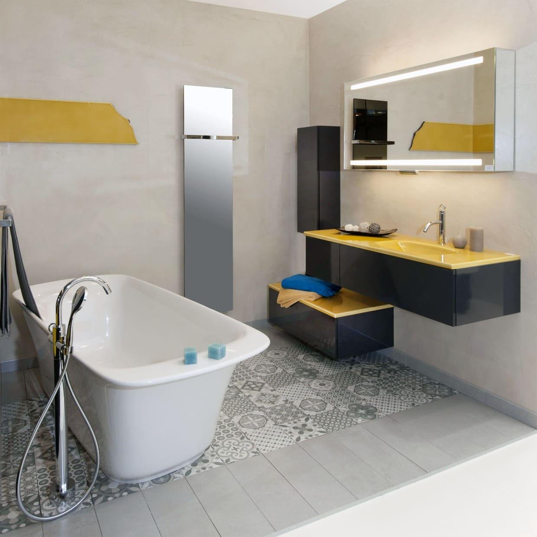 La conception complète de salle de bain à Boulogne-Billancourt